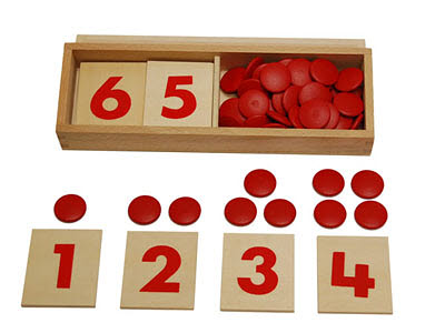Numbers & Counters Printed -