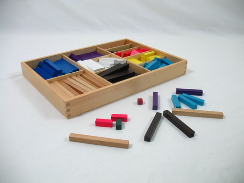 Counting Bars - Cuisenaire Rods Heavy Duty Set - Counting Bars - Cuisenaire Rods