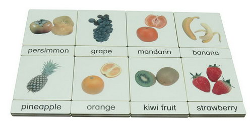 Classification 3 Part Timber Cards - Fruit No1 - Classification 3 Part Timber Cards - Fruit No1