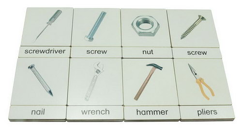 Classification 3 Part Timber Cards - Hardware Tools - Classification 3 Part Timber Cards - Hardware Tools