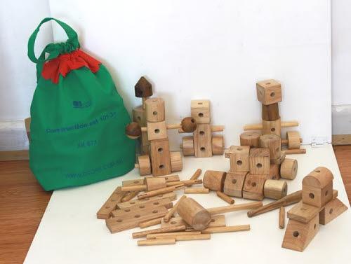 Natural Wood Construction Set - Natural Wood Construction Set