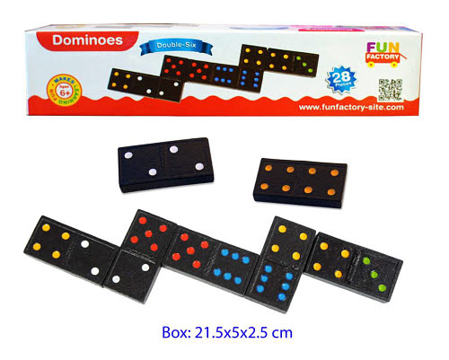 Dominoes - Double Six 28pcs - Dominoes - Double Six 28pcs