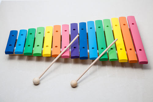 Xylophone Wooden 15 Tone - large - Xylophone Wooden 15 Tone - large