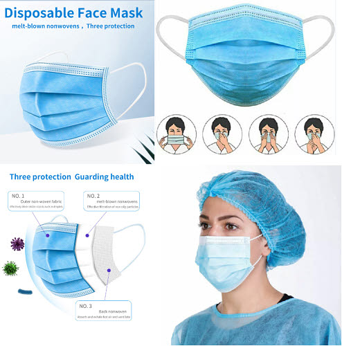 Disposable Face Masks (pack of 50) - Disposable Face Masks