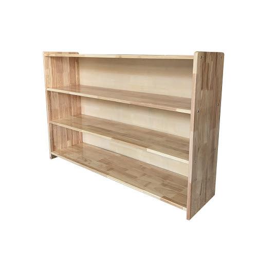 Montessori Closed or Open Shelf 3 - Rubber Tree Wood - Montessori Closed or Open Shelf 3 - Rubber Tree Wood