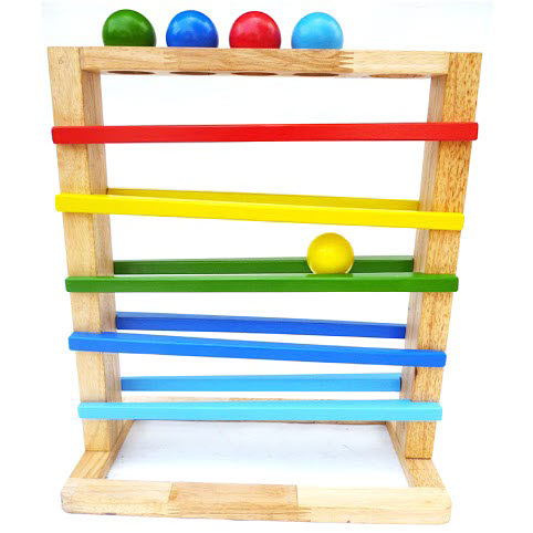 Track a Ball Rack with 5 Balls  (Accepting Pre-orders for Late May delivery) - Track a Ball Rack with 5 Balls