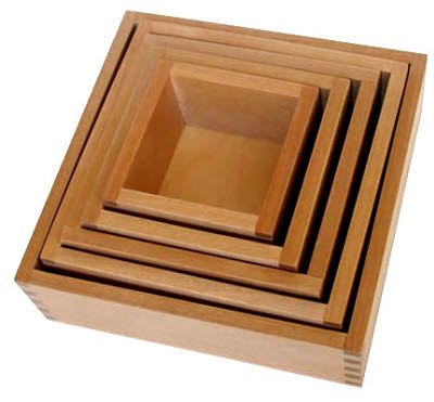 Timber Nested Boxes - Small - Timber Nested Boxes - Small