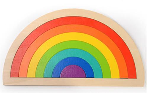 Rainbow Arches Puzzle - Rainbow Arches Puzzle