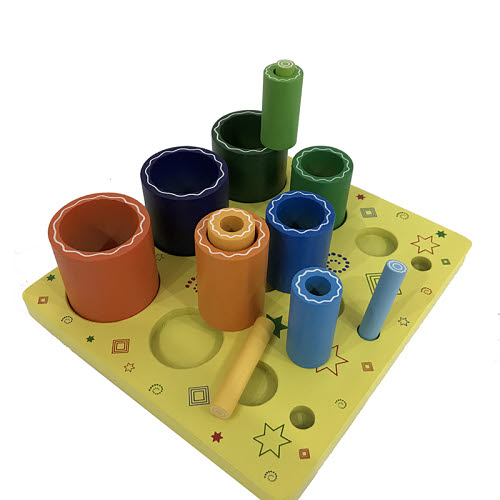 Nesting 3D Cylinders on a Board - Nesting 3D Cylinders on a Board