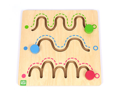 Toddler Tracking Board - Lev 1 - Toddler Tracking Board - Lev 1