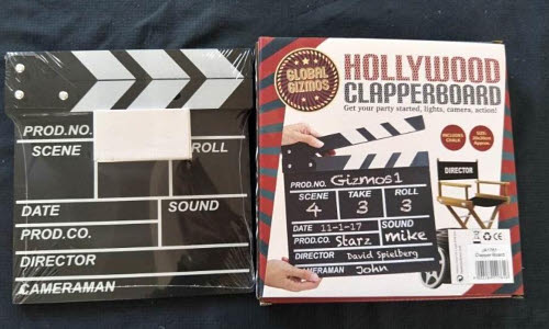 Hollywood Clapper Board (48) - Hollywood Clapper Board (48)