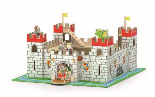 Wooden Castle Playset - Wooden Castle Playset