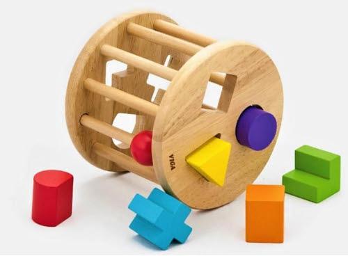 Shape Sorting Wheel - Shape Sorting Wheel