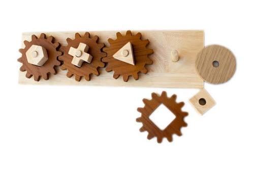 Gear Puzzle Play Set - Gear Puzzle Play Set