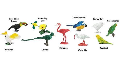 Exotic Birds - Miniatures - Exotic Birds - Miniatures