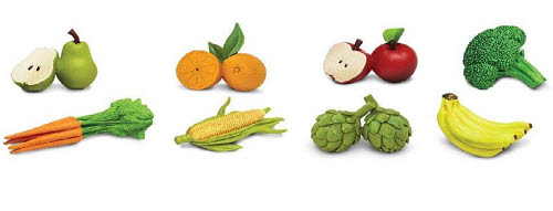 Fruit & Vegetables - Miniatures - Fruit & Vegetables - Miniatures