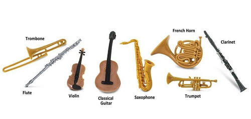 Musical Instruments Miniatures - Musical Instruments Miniatures