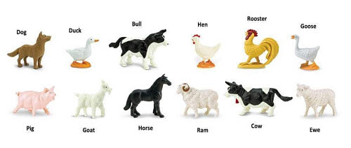 Farm Animals Miniatures - Farm Animals Miniatures