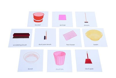 Nomenclature Cards - Care of the Environment - Nomenclature Cards - Care of the Environment