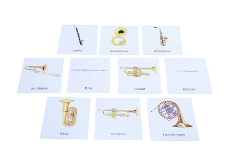 Nomenclature Cards - Wind Instruments - Nomenclature Cards - Wind Instruments