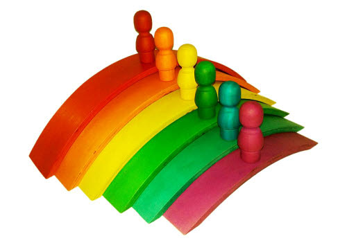 Arch Set in  Rainbow Colours - Arch Set in  Rainbow Colours