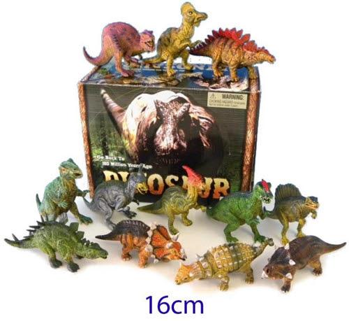 Dinosaurs 16cm 12/Display - Dinosaurs 16cm 12/Display
