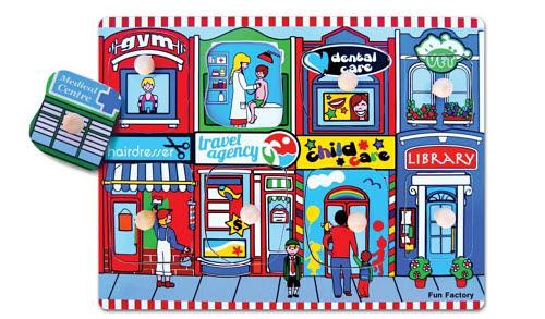 Puzzle w/knobs - Neighbour - Puzzle w/knobs - Neighbour