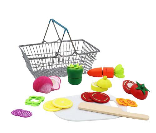 Cutting Veggies in Metal Basket - Cutting Veggies in Metal Basket