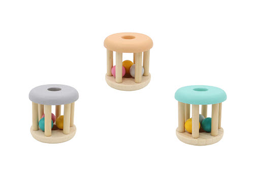 CB Rattle Wooden Small (each) - CB Rattle Wooden Small (each)