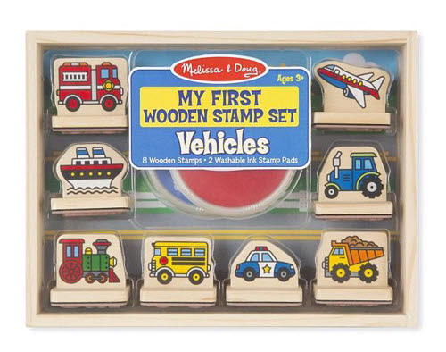M&D - My First Stamp Set - Vehicles - My First Stamp Set - Vehicles