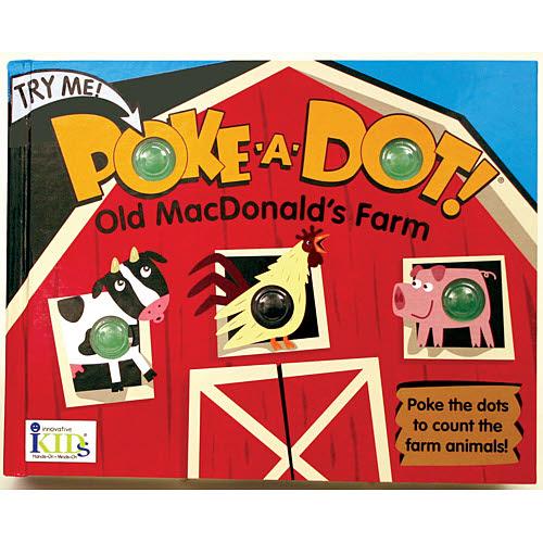 M&D - Poke-A-Dot - Old Macdonald's Farm Book -  M&D - Poke-A-Dot - Old Macdonald's Farm Book