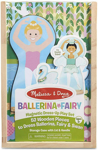 M&D - Ballerina Fairy Magnetic Dress Up - M&D - Ballerina Fairy Magnetic Dress Up