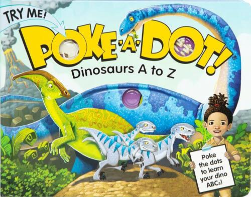 M&D Poke-A-Dot - Dinosaurs A to Z Book - M&D Poke-A-Dot - Dinosaurs A to Z Book