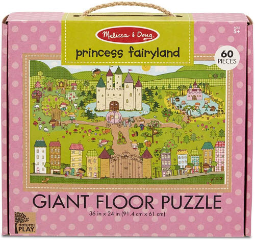M&D - Natural Play - Giant Floor Puzzle Princess -