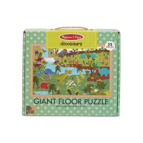 M&D - Natural Play - Giant Floor Puzzle Dinosaurs - M&D - Natural Play - Giant Floor Puzzle Dinosaurs