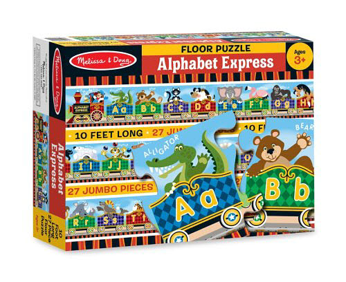 M&D - Alphabet Express Floor Puzzle - 27pc - M&D - Alphabet Express Floor Puzzle - 27pc