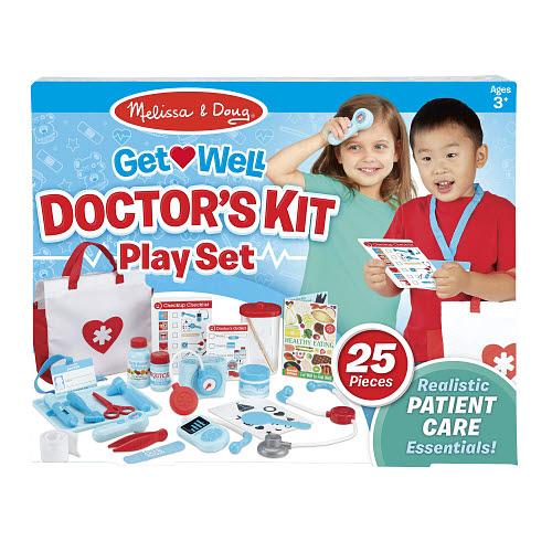 M&D - Get Well Doctor's Kit Play Set - M&D - Get Well Doctor's Kit Play Set