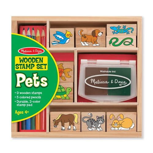 M&D - Pets Stamp Set - M&D - Pets Stamp Set