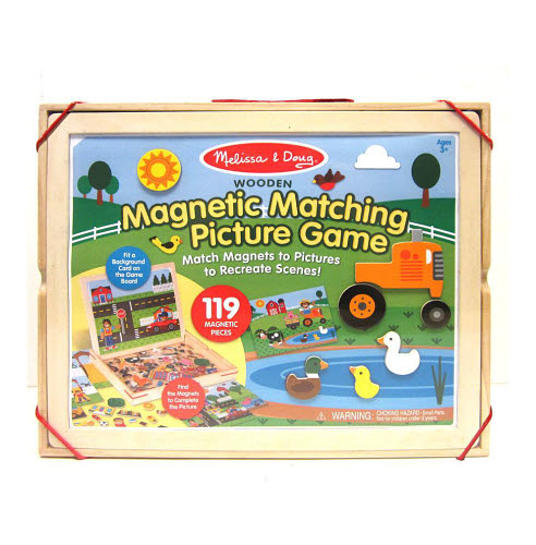 M&D - Wooden Magnetic Picture Game - M&D - Wooden Magnetic Picture Game