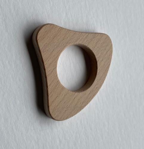 Infant Natural Wooden Grasping Handle - Infant Natural Wooden Grasping Handle