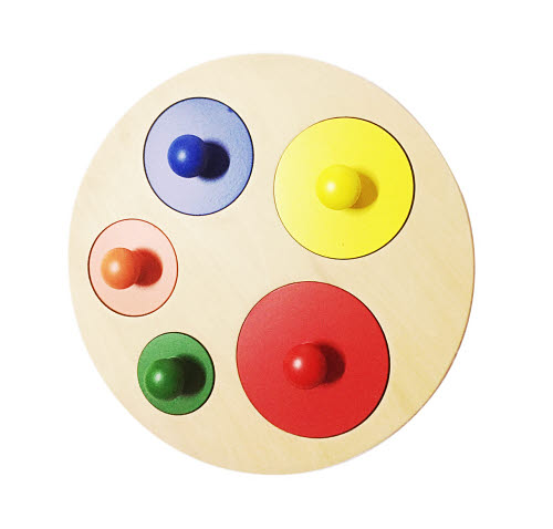 Circle size colour Puzzle - Circle size colour Puzzle