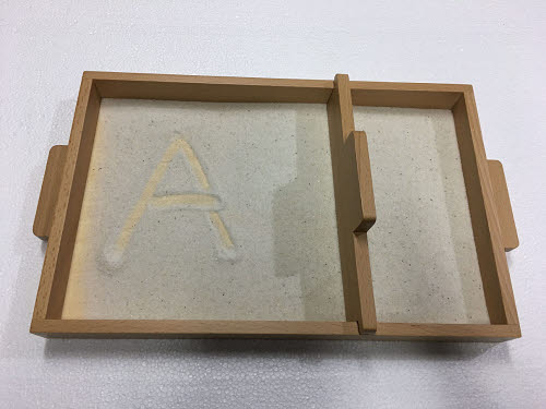 Sand Tracing Tray with Tool - Sand Tracing Tray with Tool