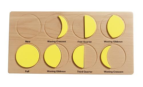 Phases of the Moon Puzzle - Phases of the Moon Puzzle